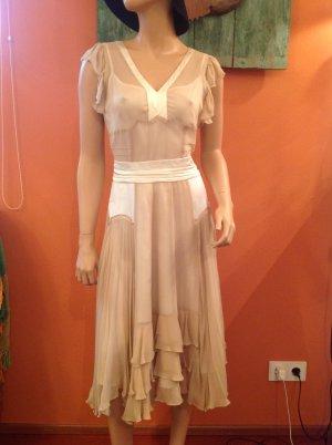 Chloé Kleid aus Seide und Chiffon