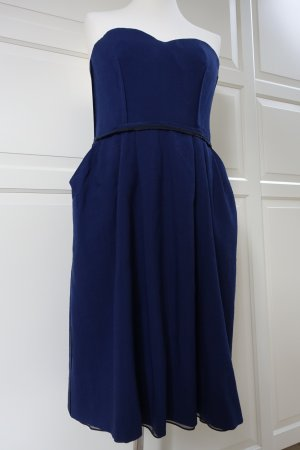 Chloé Bustier Dress blue-black