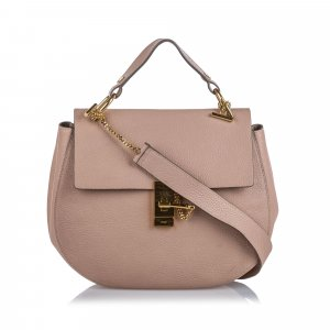 Chloe Large Lambskin Leather Drew