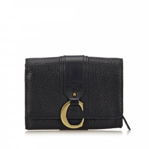 Chloe Leather 2 Fold Wallet