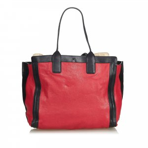 Chloe Leather Alison Tote Bag
