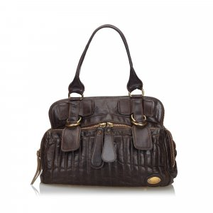 Chloe Leather Bay Handbag