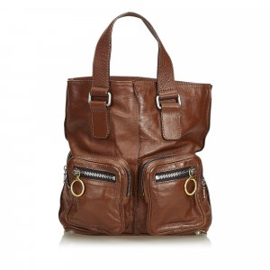 Chloe Leather Betty Tote Bag