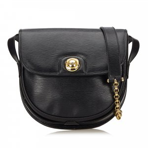 Chloe Leather Chain Shoulder Bag