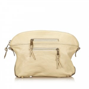 Chloe Leather Clutch Bag