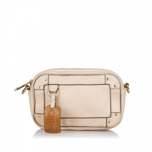 Chloe Leather Eden Crossbody Bag