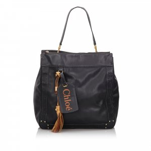 Chloe Leather Eden Tote Bag