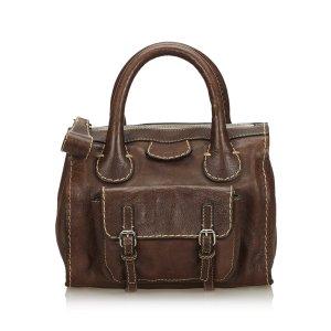 Chloe Leather Edith Handbag