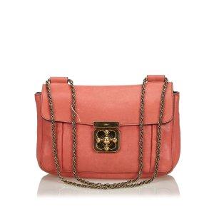 Chloé Shoulder Bag orange leather