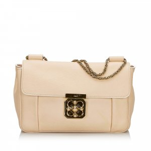 Chloe Leather Elsie Shoulder Bag