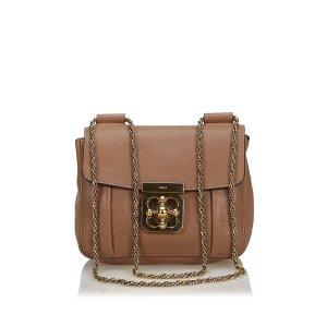 Chloé Shoulder Bag light brown leather