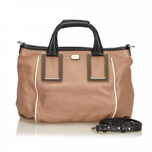 Chloé Satchel brown leather