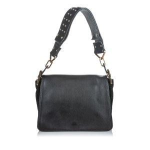 Chloe Leather Jade Shoulder Bag