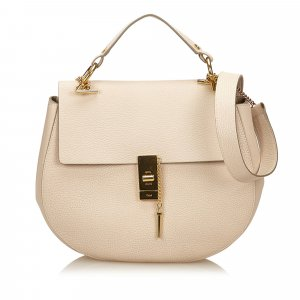 Chloe Leather Large Drew