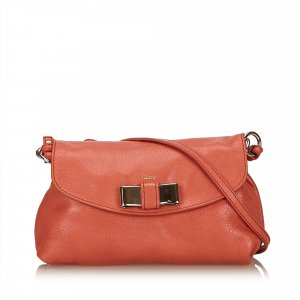 Chloe Leather Lily Shoulder Bag