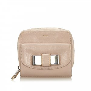 Chloe Leather Lily Wallet