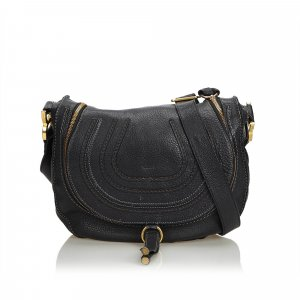 Chloe Leather Marcie Crossbody Bag