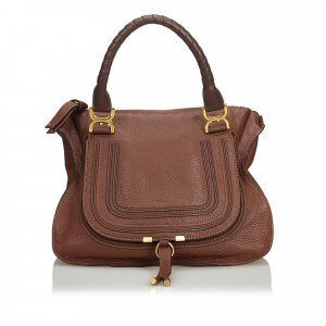 Chloe Leather Marcie Handbag