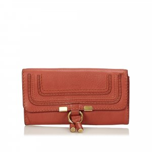 Chloe Leather Marcie Long Wallet