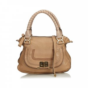 Chloe Leather Marcie Satchel