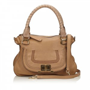 Chloé Satchel beige leather