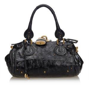 Chloe Leather Mini Paddington Handbag