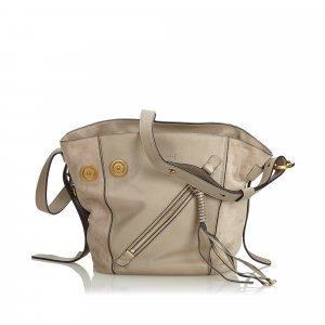Chloe Leather Myer Satchel