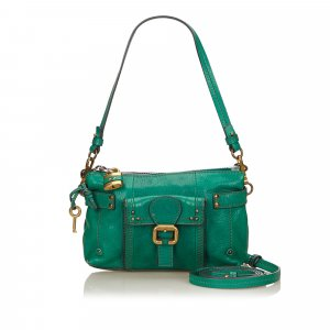Chloé Handbag green leather