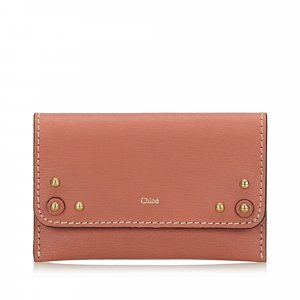 Chloe Leather Paddington Card Holder