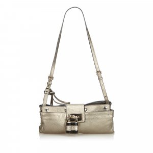 Chloe Leather Paddington Crossbody Bag
