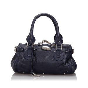 Chloé Handbag blue leather