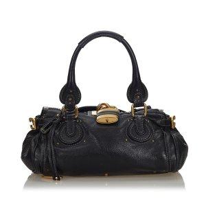 Chloe Leather Paddington Handbag