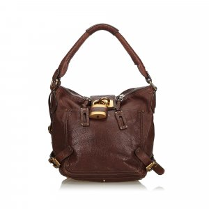 Chloe Leather Paddington Shoulder Bag