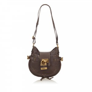 Chloe Leather Paddington Shoulder Bag