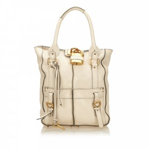 Chloe Leather Paddington Tote