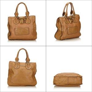 Chloe Leather Paddington Tote Bag