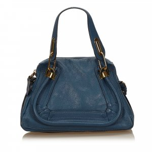 Chloé Handbag blue leather