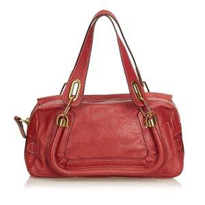 Chloe Leather Paraty Handbag