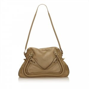 Chloé Satchel light brown leather