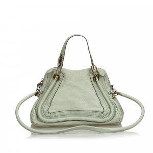 Chloe Leather Paraty Satchel