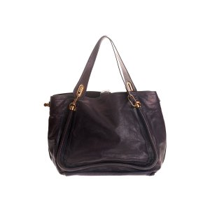 Chloe Leather Paraty Tote