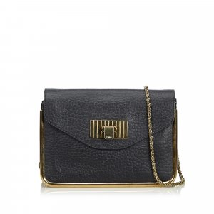 Chloe Leather Sally Crossbody Bag