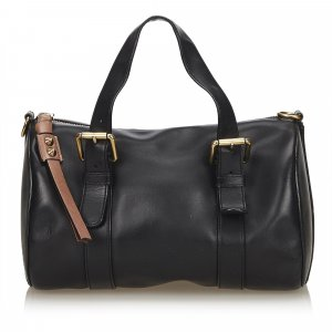 Chloe Leather Sam Bowling Bag