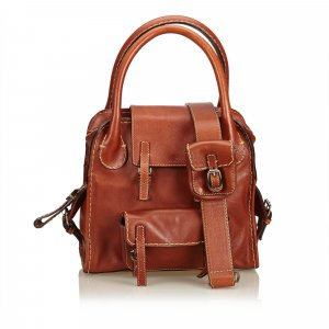 Chloe Leather Satchel