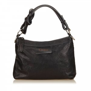 Chloé Shoulder Bag black leather