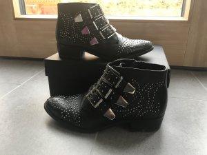Chloé lookalike boots von Bronx