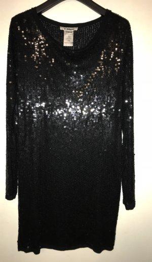 Chloe/Luxus Abendkleid mit pailletten