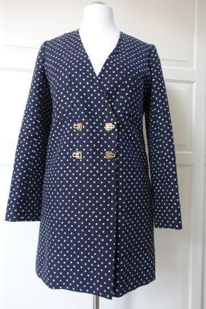 CHLOÉ Mantel, für den nächsten Spaziergang in Paris?, dunkelblau mit weißen Punkten, Très chic !!