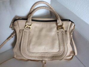 CHLOÉ MARCIE BAG Large Tasche beige nude 100% Original! Top Zustand!