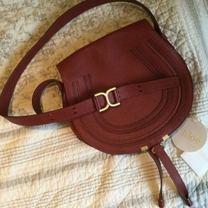 Chloe Marcie Crossbody Medium Rot